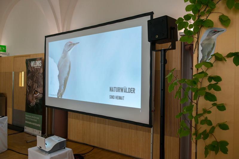 The venue at the Parlamentarischer Abend, Hessen - Land der Naturwälder, Hessischer Landtag. Wiesbaden, Hessen, Germany. © Daniel Rosengren