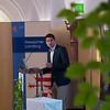 Manuel Schweiger giving a speech at the Parlamentarischer Abend, Hessen - Land der Naturwälder, Hessischer Landtag. Wiesbaden, Hessen, Germany. © Daniel Rosengren