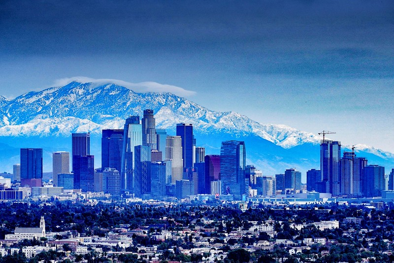 Los Angeles in Winter