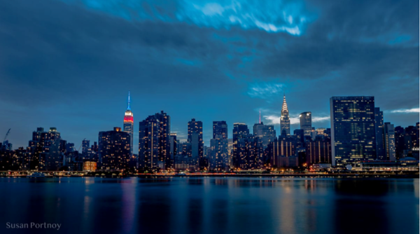 NY FROM BROOKLYN BY SUSAN PORTNOY