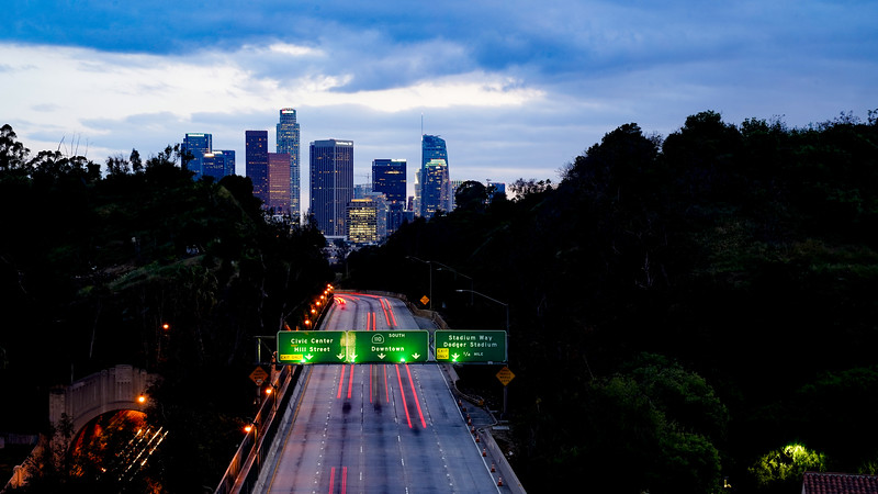 Quiet Freeway in Lockdown