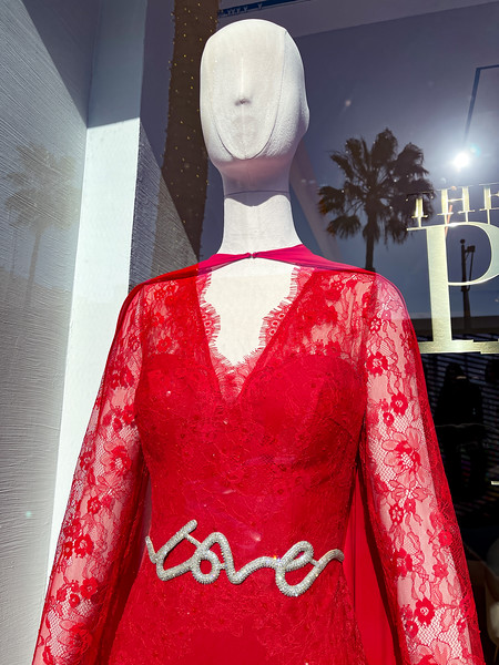 Rodeo Drive display