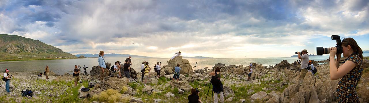 GSL Photowalking Utah Pano