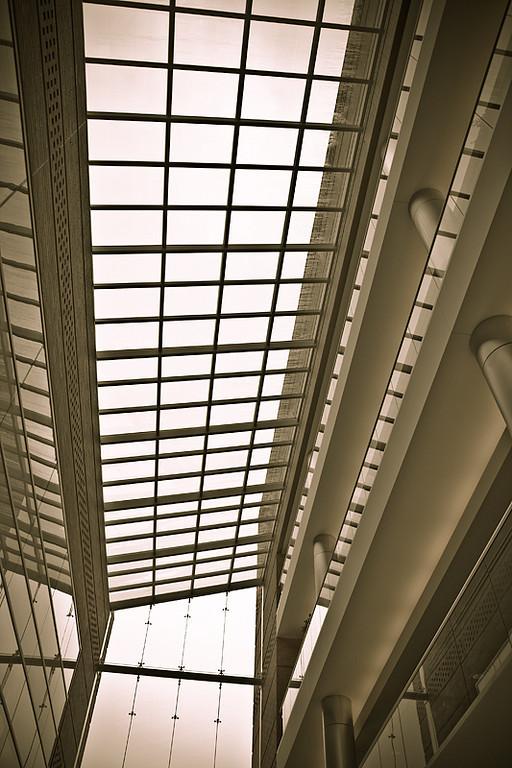 Atrium in Sepia