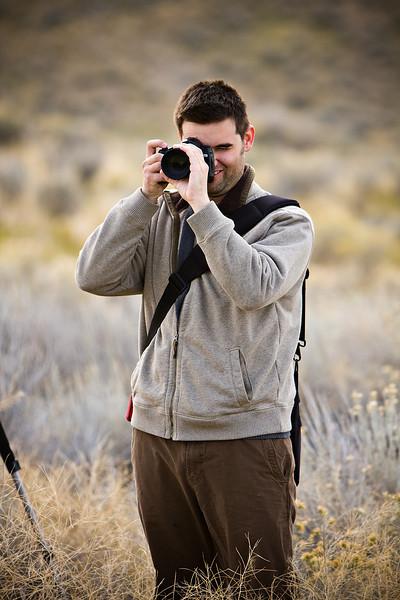 Shooting the IR view