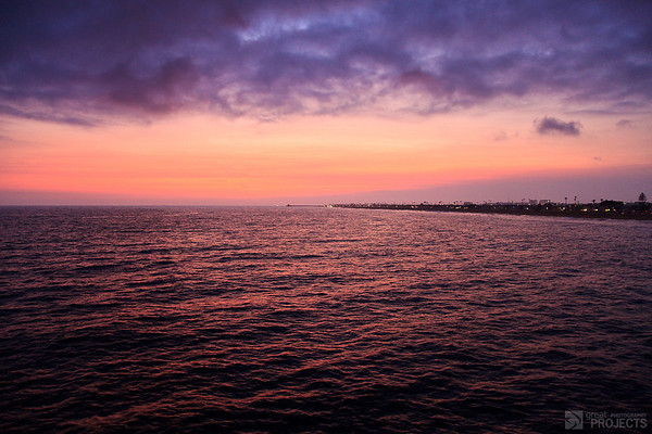 Sunset from Balboa Pier