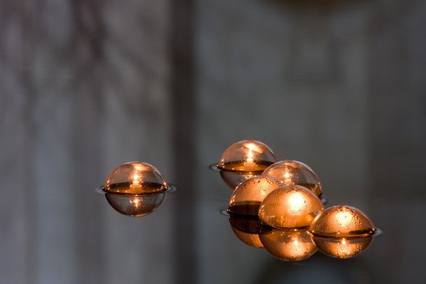 Floating Lights Isolated