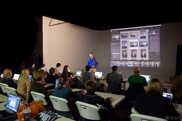 Scott Jarvie & his Intermediate Workshop Crowd