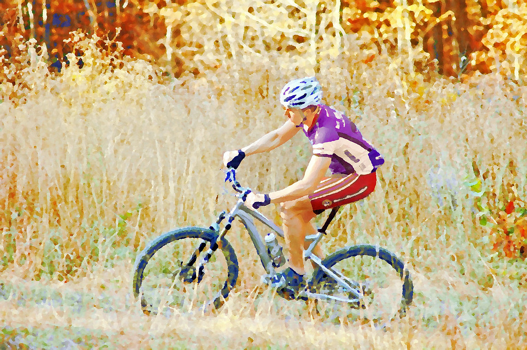From Brown Co. State Park. Brow County State park has some of the finest bike trails in the US.