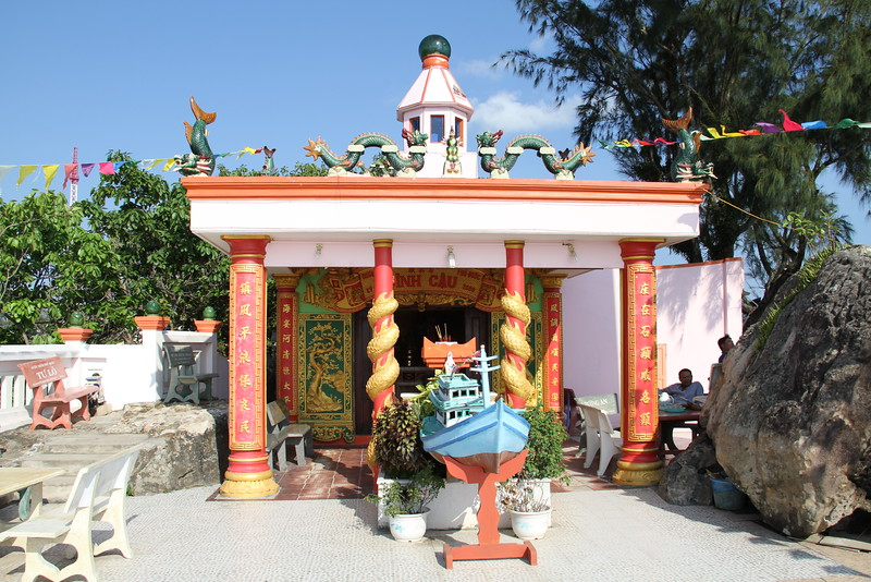 Temple in the light house