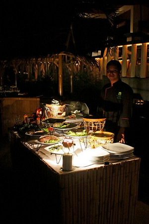 2012.04 - Private Seafood BBQ at Mangosteen Resort Phuket