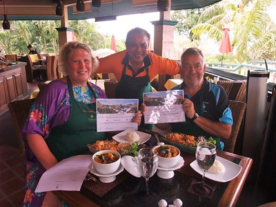 Thai Cooking Class @ Mangosteen Restaurant Phuket 15Sept2017