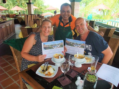 Thai Cooking Class, Mangosteen Phuket, Darren & Donna 08Nov2017