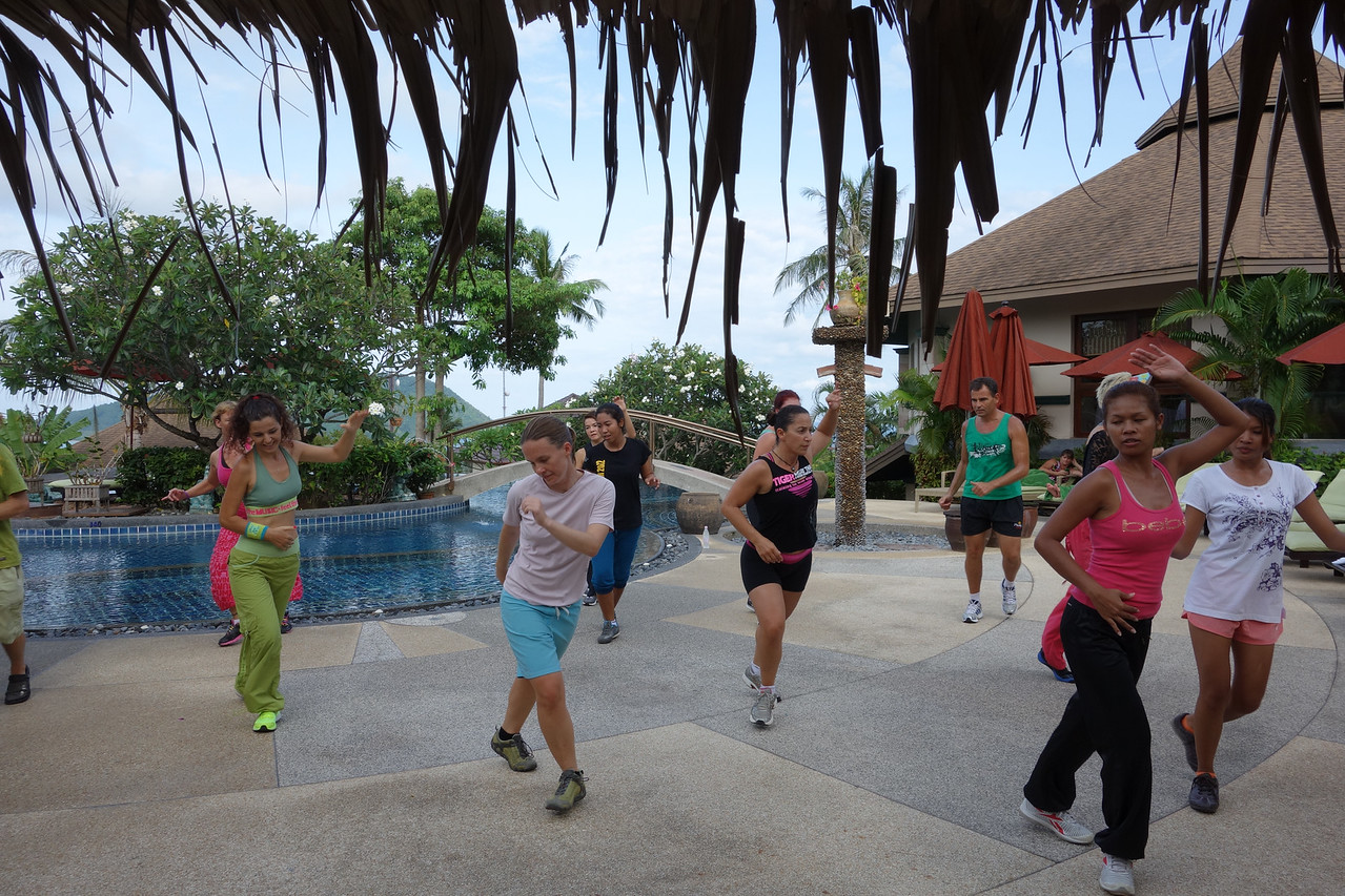Health & Fitness Festival 2013 at Mangosteen Resort Phuket - ZUMBA