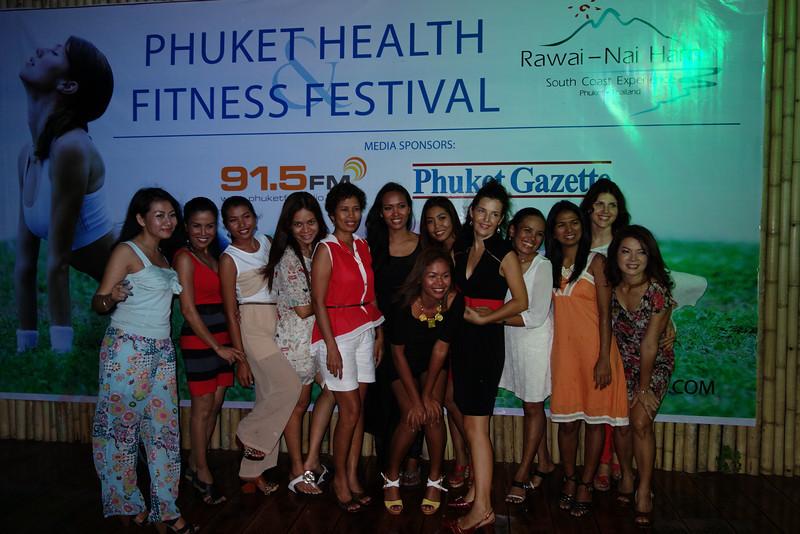Health & Fitness Festival 2013 sponsor cocktail at O2 Beachclub