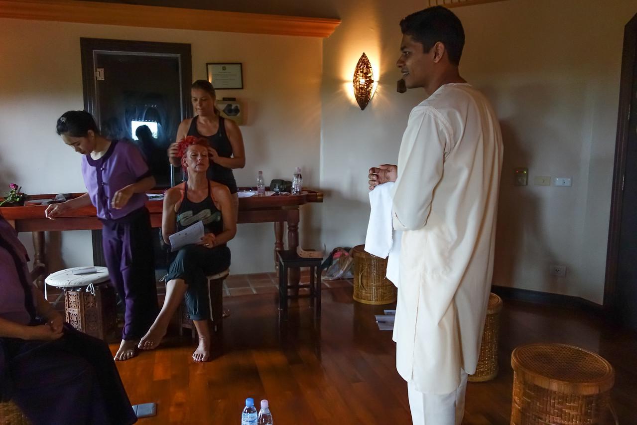 Health & Fitness Festival 2013 at Mangosteen Resort Phuket - Head Massage