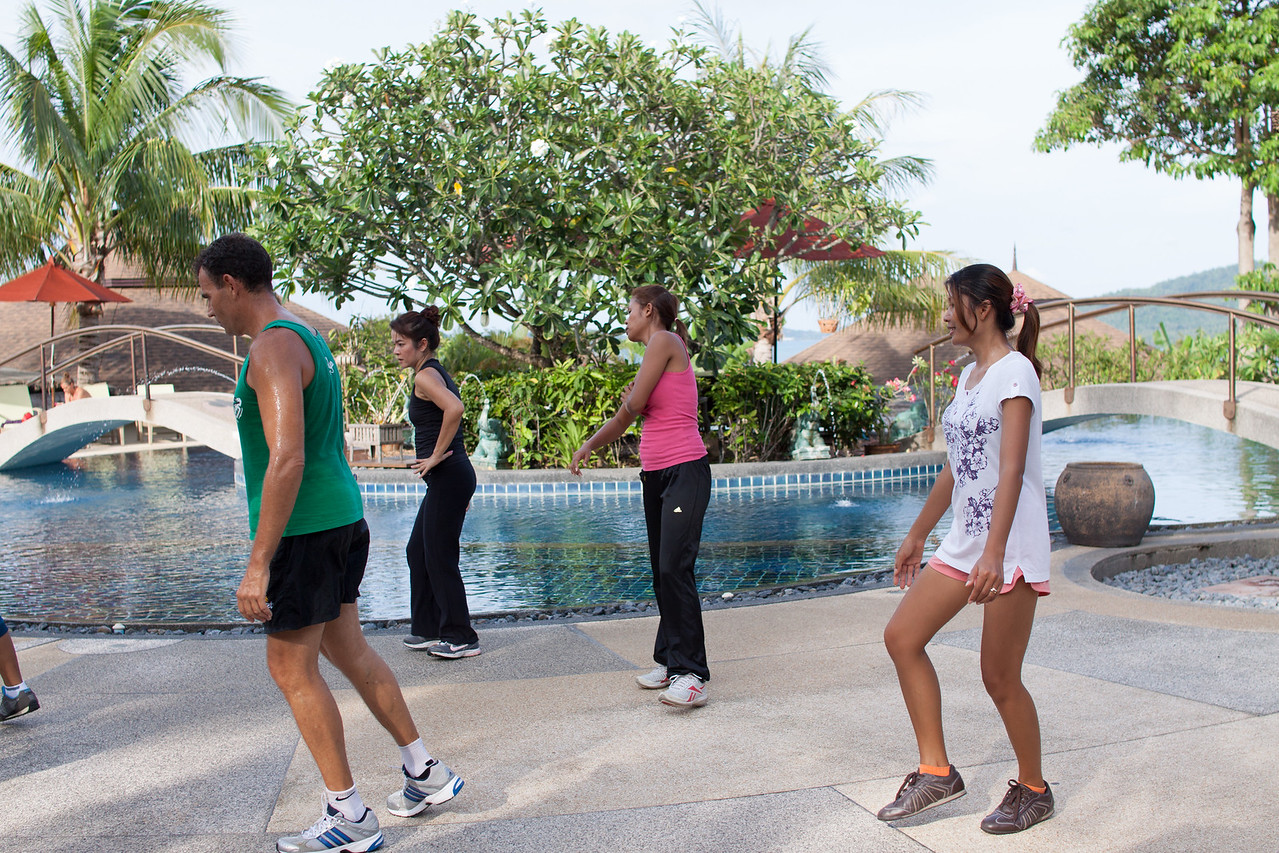 Health & Fitness Festival 2013 at Mangosteen Resort Phuket - ZUMBA