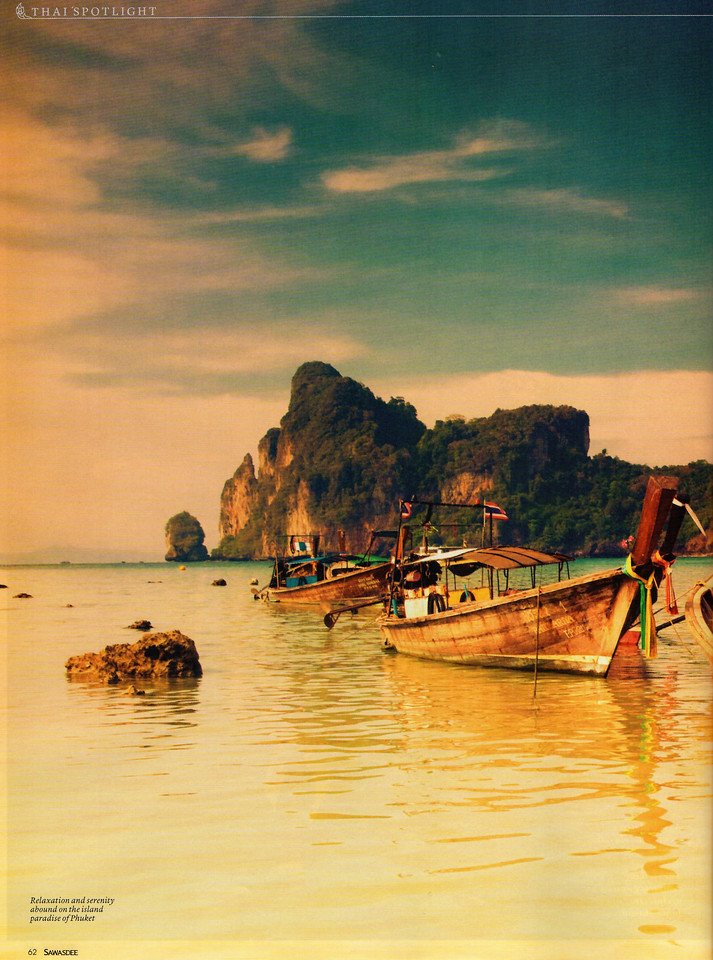 Top 5 Phuket Resorts - by Sawasdee Magazine April 2013