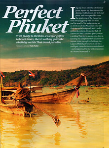 Top 5 Phuket Resorts - by Sawasdee Magazine April 2013