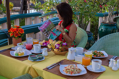 Breakfast Buffet @ Mangosteen Resort & Ayurveda Spa