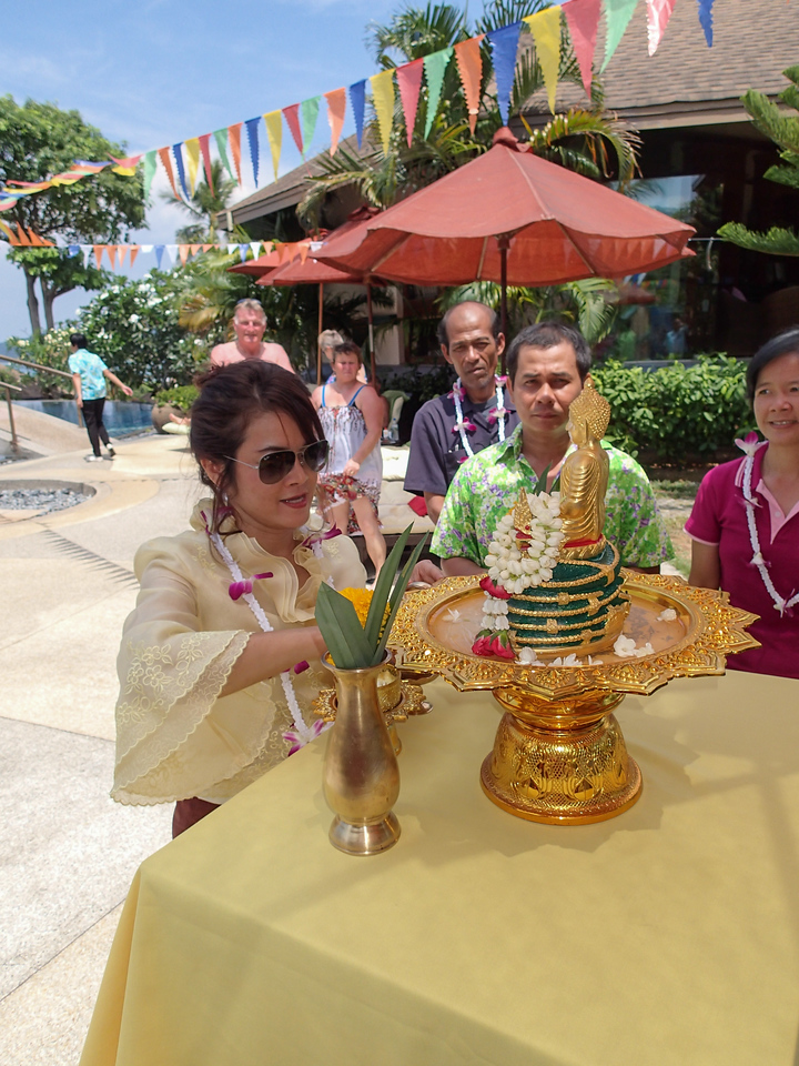 Songkran 2015 @ Mangosteen Resort & Ayurveda Spa, Phuket