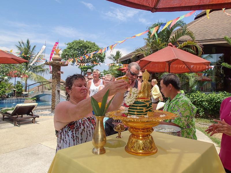 Songkran 2015 @ Mangosteen Resort & Ayurveda Spa, Phuket