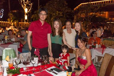 Christmas Dinner 2015 at Mangosteen
