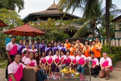 Mangosteen Resort & Ayurveda Spa, Staff Party 2015