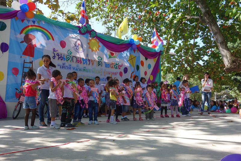Children Day at Wat Sawang Arom