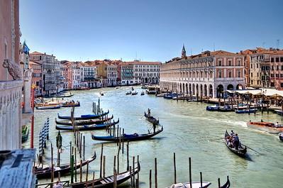 Venice Grand Canal from Hotel Ca' Sagredo