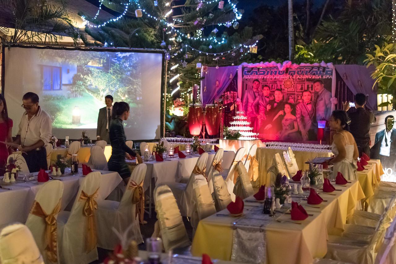Casino Royale New Year Party 2017-2018 at Mangosteen Resort & Ayurveda Spa
