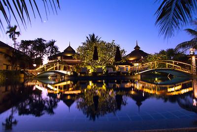 Mangosteen Resort & Ayurveda Spa, Night Atmosphere