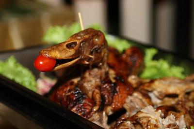 New Year 2009, party at The Mangosteen Resort & Spa, Phuket. Quack Quack!