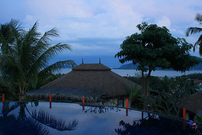 New Year 2009, party at The Mangosteen Resort & Spa, Phuket. It was NOT raining! :)
