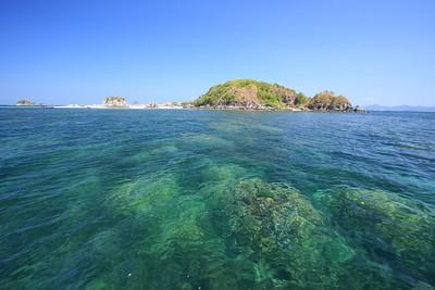 Phuket Thailand, Phi Phi Island's beautiful beaches and rocks - Kai Island Paradise Island near Phuket!
