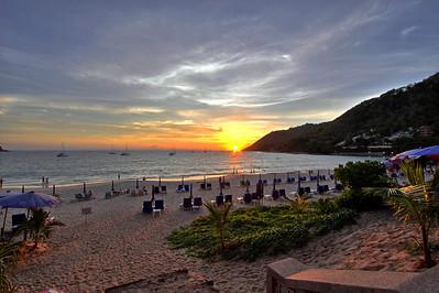 Phuket Nai Harn Beach Sunset