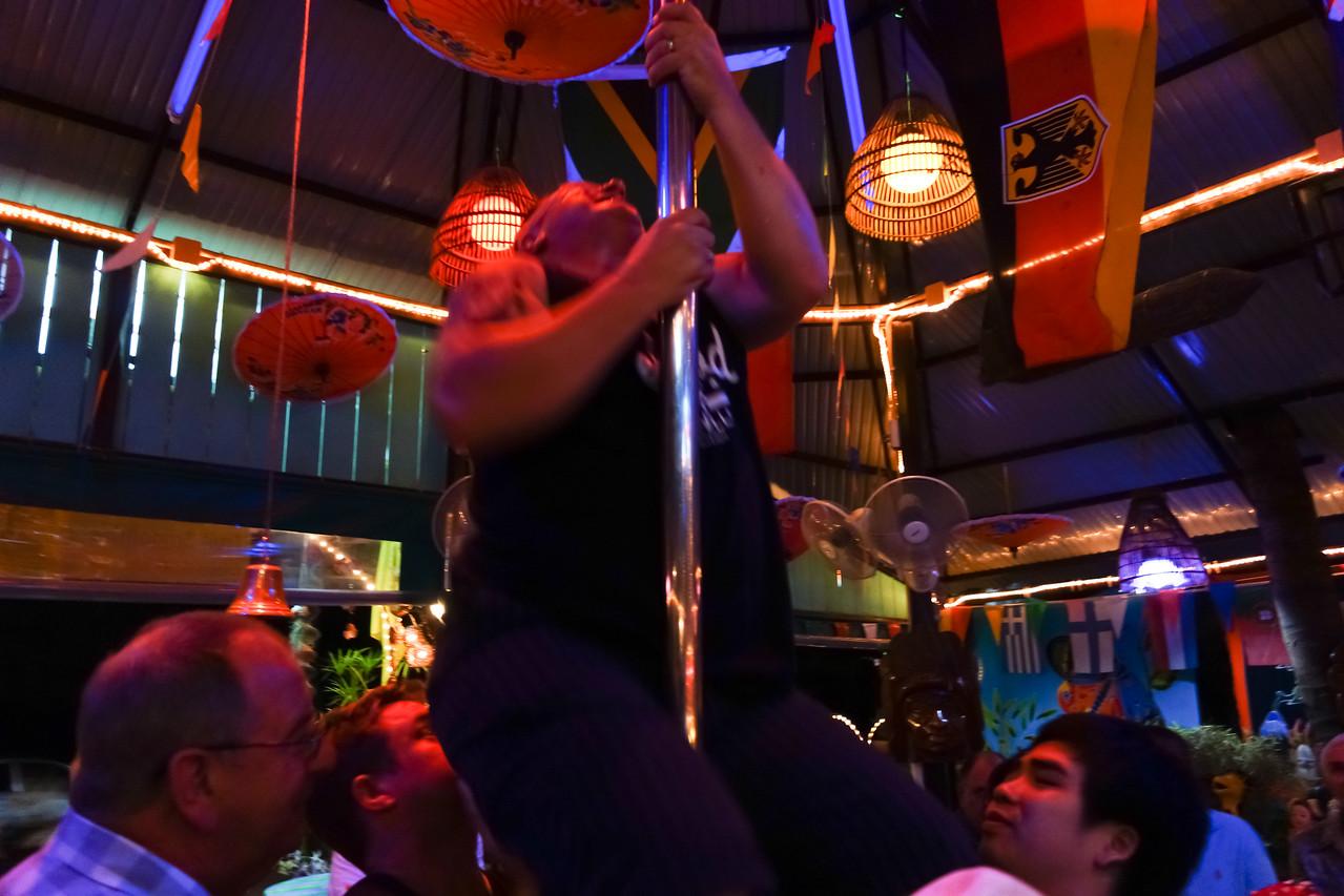 Mangosteen Resort and Ayurveda Spa, Phuket, Thailand - taking over Sunshine Bar in Rawai