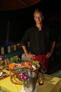 Seafood Basket with Phuket Lobster at Mangosteen Restaurant, Phuket