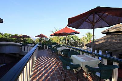 The Mangosteen Restaurant terrace