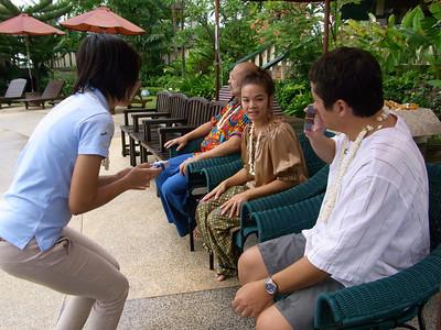 The Mangosteen Boutique Resort Phuket celebrates Songkran 2009