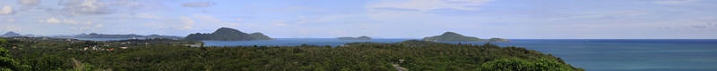 Phuket Thailand Promthep Cape Sunset Viewpoint