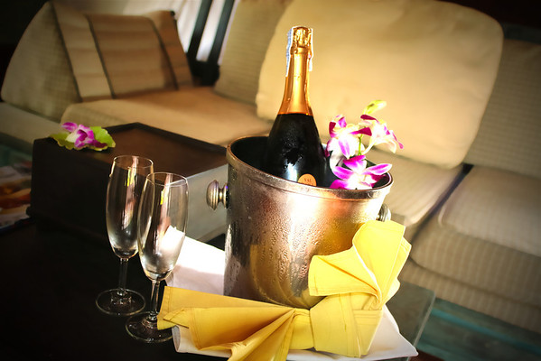 Bottle of Sparkling Wine on Arrival at Mangosteen Resort & Ayurveda Spa