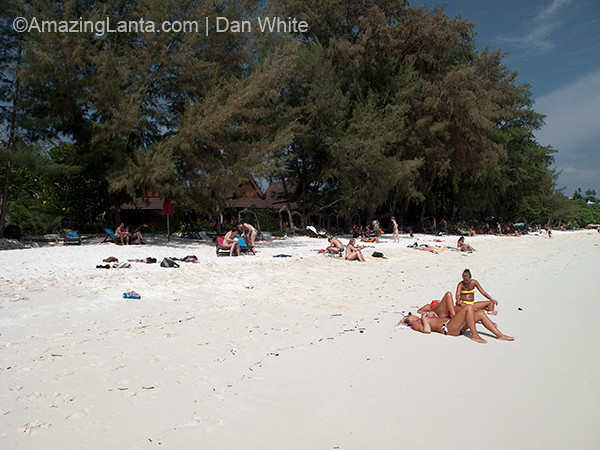 Long Beach. Koh Phi Phi. Thailand.