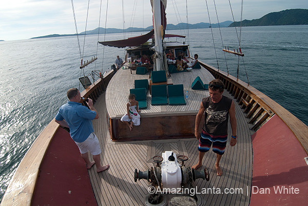 Sunset Cruise. Phuket. Thailand.