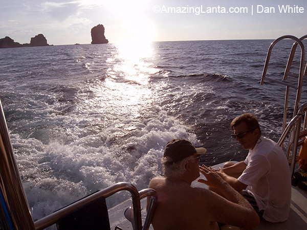 Andaman Sunset Cruise. Thailand.