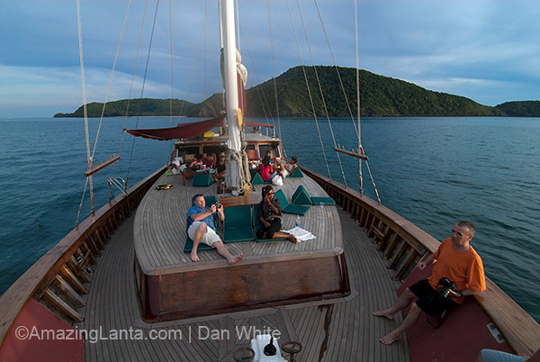 Arriving at Phuket In Style on A Sunset Cruise