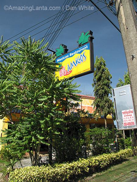 Los Amigos Restauarnt. Naiharn. Phuket. Thailand.