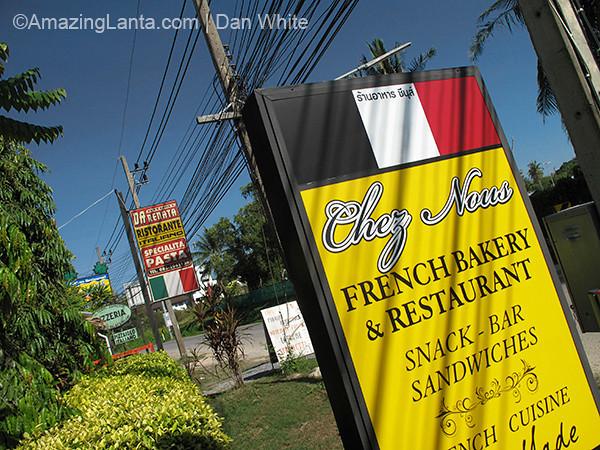 French bakery. Naiharn.Phuket. Thailand.