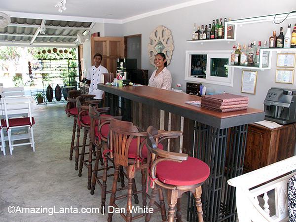 Two Ssiters Restaurant. Naiharn Beach. Phuket. Thailand.