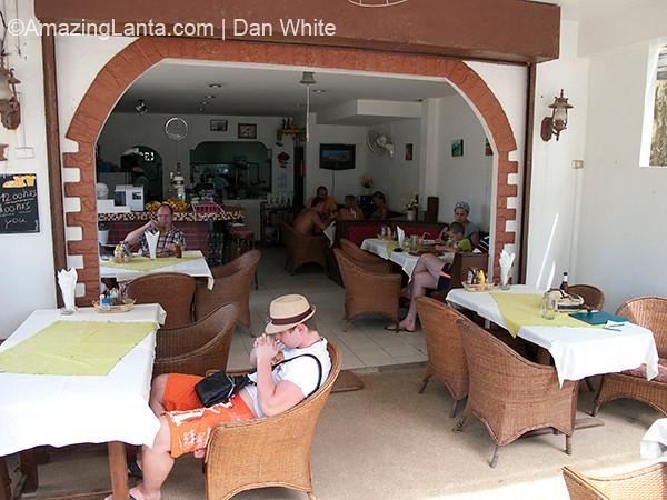 Macarona restaurant, Naiton Beach, Phuket, Thailand